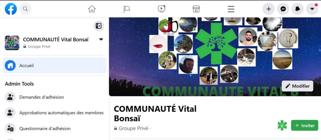 groupe Facebook Vital B